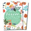 Little Wildflower // Birthday Invitation