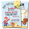 Swashbuckling Fun // Birthday Invitation