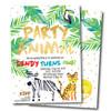 Party Animal // Birthday Invitation