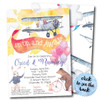 Up Up and Away // Birthday Invitation