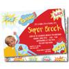 Super Kid // Birthday Invitation