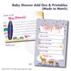 Little Lamb // Baby Shower Invitation