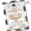 Terrier Tailgate // Wedding Shower Invitation