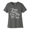 Jesus, Wine, and One Thing At A Time T-shirt