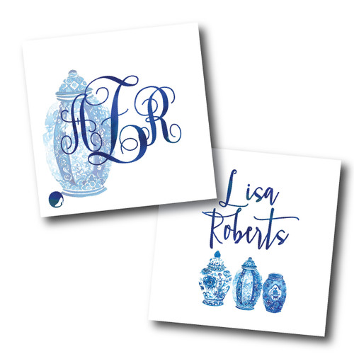 Enclosure Cards // Something Blue Stationery Suite