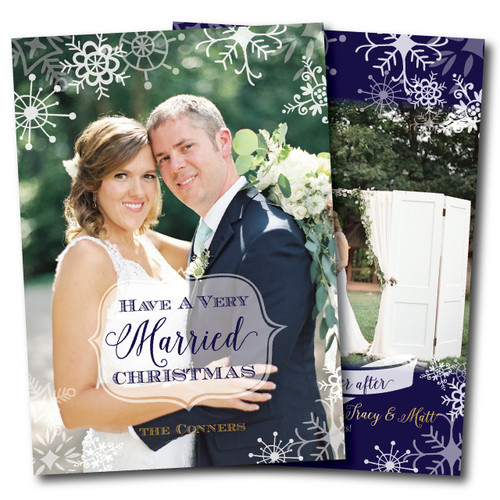 A Very Married Christmas  // Holiday Card
