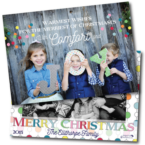 Confetti + Wishes  // Holiday Card