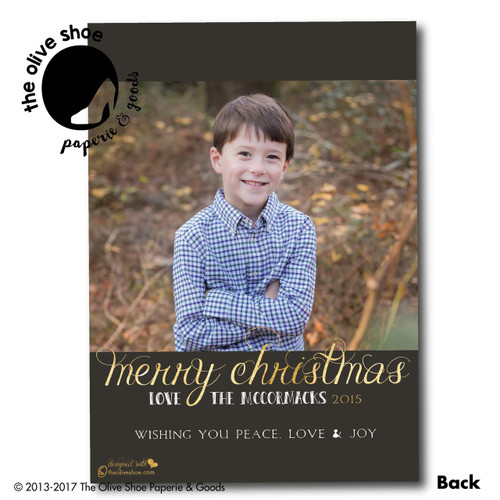 It Really Is A Wonderful Life // Holiday Card