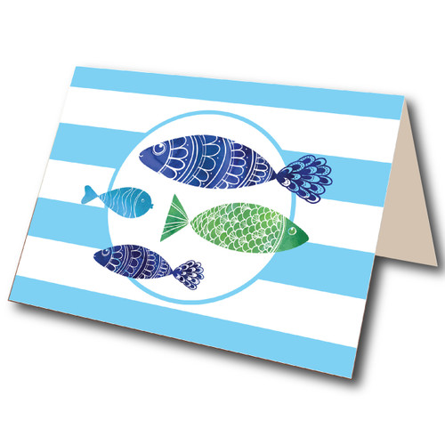 Folded Note Cards // Fishers of Men Stationery Suite // Benefitting Price's Point