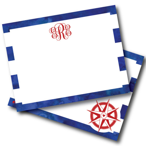 Flat Note Cards // Deep Waters Stationery Suite // Benefitting Price's Point