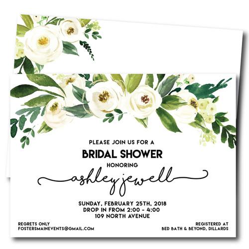 Jewell of a Bridal Shower // Wedding Shower Invitation