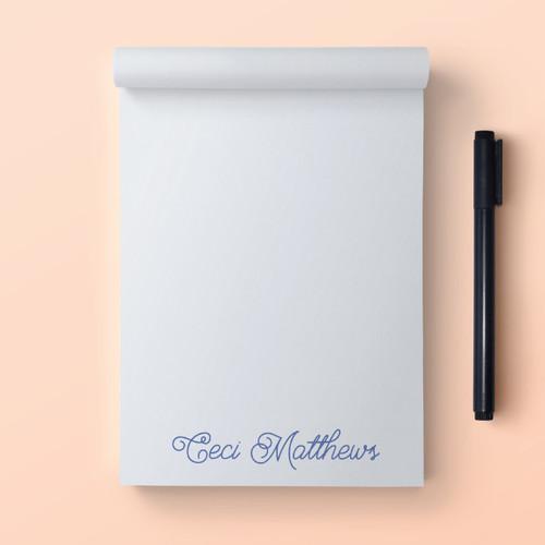 Ceci Myself A Reminder // Note Pad