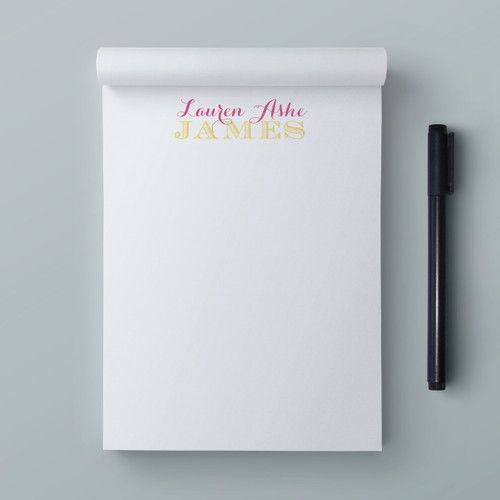Name Your Task // Note Pad