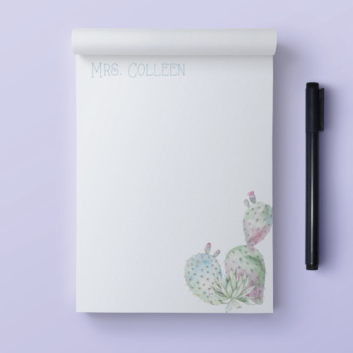Note Cacti Present // Note Pad