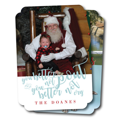 Better Not Pout // Holiday Card
