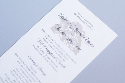 The Ivie  // Wedding Invitation Suite