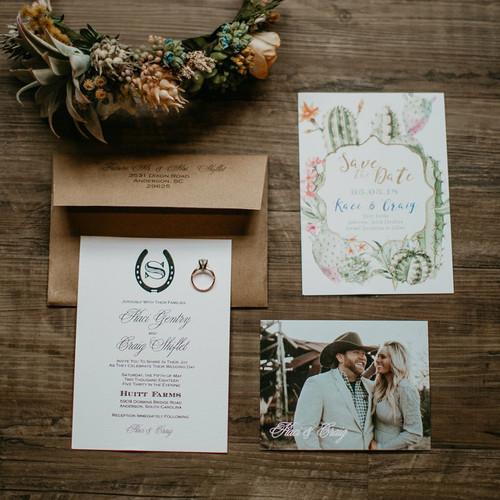 The Gentry // Wedding Invitation Suite