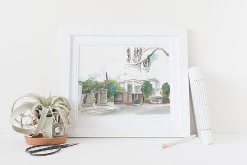 Lesesne Gate // The Citadel // Limited Edition Print