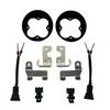 Baja Designs  Squadron Fog Light Brackets for 2012-2021 Toyota Tacoma, 2014-2021 Toyota Tundra & 2010-2021 Toyota 4Runner
