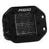 Rigid Industries Midnight Edition D-Series Pro, Spot Diffused (Flush Mount) Pair