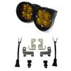 Baja Designs Squadron SAE Fog Kit (Amber) for 2012-2021 Toyota Tacoma, 2014-2021 Tundra & 2010-2021 Toyota 4Runner