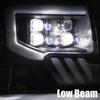AlphaRex 09-14 Ford F150 NOVA-Series LED Projector Headlights, Chrome
