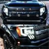 AlphaRex 09-14 Ford F150 NOVA-Series LED Projector Headlights, Jet Black