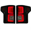 Recon Ford F150 18-20 OLED Tail Lights in Smoked