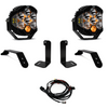 Baja Designs Jeep JL/JT Bumper Light Kit (Dual LP6 w/Toggle Switch)