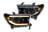 Morimoto XB LED Headlights for 2007-2013 Toyota Tundra (Amber DRL)