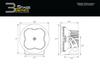 "Diode Dynamics Stage Series 3"" Sport White Flood Round (Pair)"