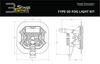 "Diode Dynamics Stage Series 3"" Pro White SAE Fog Type SD Fog Kit (2011-2016 Ford F-250/F-350)"