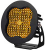 """Diode Dynamics Stage Series 3"""" Pro Yellow Flood Round (Single)"""