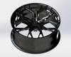VR Forged D05 Wheel Gloss Black 20x9.5 +50mm 5x112