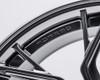 VR Forged D10 Wheel Hyper Black 20x11 +43mm 5x112