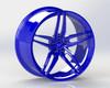VR Forged D10 Wheel Dark Blue 20x12 +25mm 5x114.3