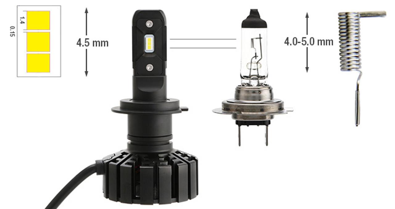 CrystaLux G11 Series LED Headlight/Fog Light Conversion Kit ...