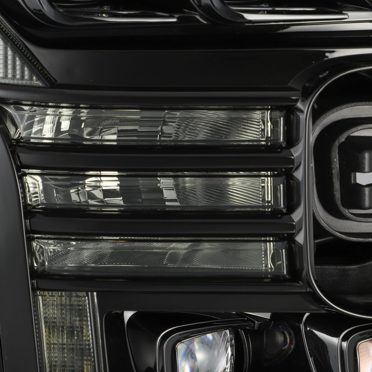 Alpharex 15 17 Ford F150 17 20 F150 Raptor Nova Series Led Projector Headlights Mid Night Black 4x4truckleds Com