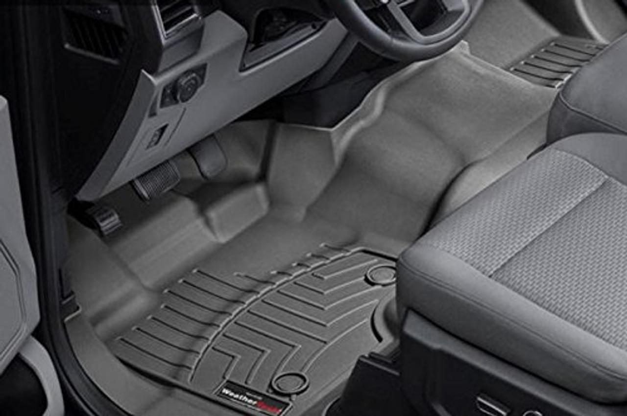 Black WeatherTech Front FloorLiner for Select Ford F-150 Models