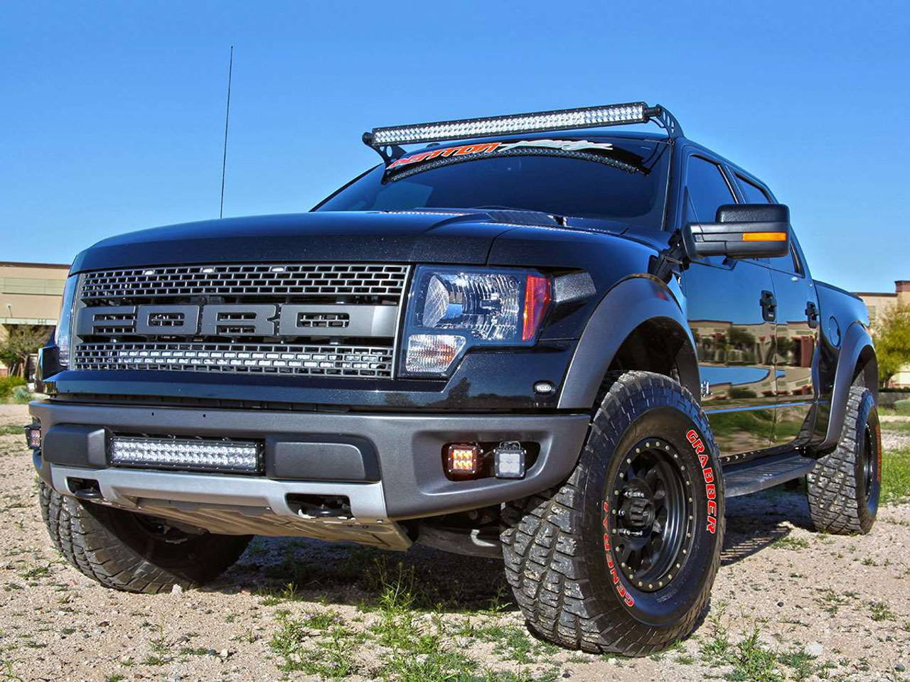 Rigid Industries   Ford F  Svt Raptor Fog Light Replacement Kit