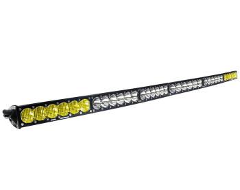 "Baja Designs OnX6+, 60"" Arc Dual Control Amber/White LED Light Bar"
