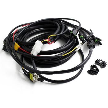Baja Designs, Squadron/S2 Wire Harness-3 Light Max 325 Watts
