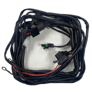Baja Designs, Squadron/S2 Off/On Wire Harness-2 Lights Max 150 Watts
