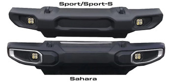 Baja Designs Jeep JL (Sport/Sport-S), Squadron-R Sport, Fog Pocket Kit