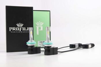 Profile Peak LED Bulbs (H8/H9/H11)
