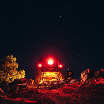 Baja Designs Universal Rock Light Kit (Amber)