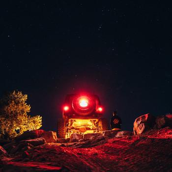 Baja Designs Universal Rock Light Kit (Red)