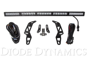 Diode Dynamics 2018+ Jeep JL Wrangler Bumper LED Light Bar Kit