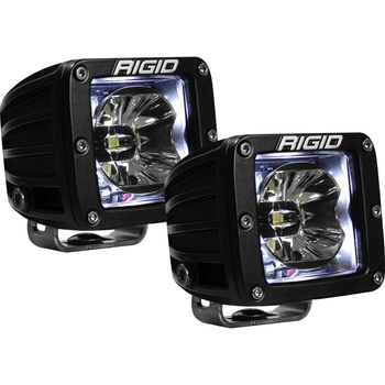 Rigid Industries Radiance Pod, Pair (White Backlight)