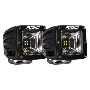 Rigid Industries Radiance Scene Lights, Surface Mount Pair (White Backlight)